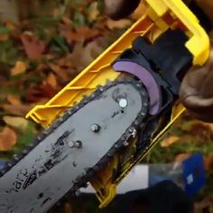 Teeth Sharpener Saw Chainsaw Teeth Sharpener Get free woodworking tutorials and project ideas fit fo Woodworking Tools For Beginners, Woodworking Tutorials, Wood Working For Beginners, Woodworking Shop, Woodworking Plans, Woodworking Techniques, Cool Tools, Diy Tools, Chainsaw Sharpener