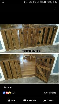 Love The Look Instead Of The Plastic Child Or Pet Fence For The