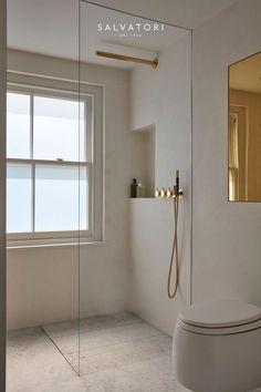 Bathroom Inspiration, Interior Inspiration, Bathroom Interior Design, Bathroom Designs, Minimalist Bathroom Design, Minimal Bathroom, Gold Interior, Interior Colors, Bathroom Trends