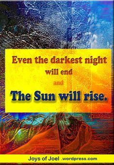 reflections on hope and faith, inspirational quote, joys f joel musings on easter sunday Reflection Quotes, Motivational Quotes, Inspirational Quotes, Scene Kids, Sunday Quotes, Dark Night, Faith Quotes, The Darkest, Sunrise