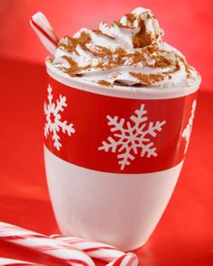 Warm drink recipes for the winter holidays and I just add peppermint schnapps to my hot cocoa makes it even better