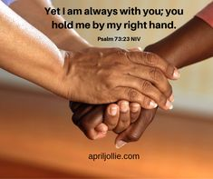 No matter how you feel or what lies before you today.The Lord is always with you and He is holding you by his right hand. Dutch Quotes, Teacher Inspiration, Do What Is Right, Dalai Lama, No Me Importa, Encouragement Quotes, Psalms, Holding Hands, Me Quotes
