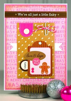 Gingerbread Man  Merry Christmas  Love and Hope  by thecardkiosk