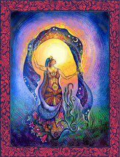 The Visionary Art of Willow Arlenea - Mary Magdalene Art