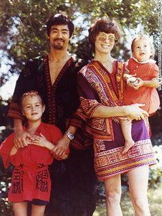 Bruce Lee & Family
