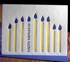 hand made hanukkah cards