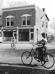 Wright Brothers bike shop. :)