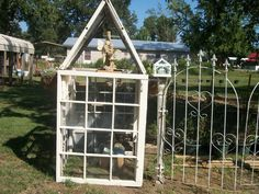 old window greenhouse | Greenhouse made from old windows