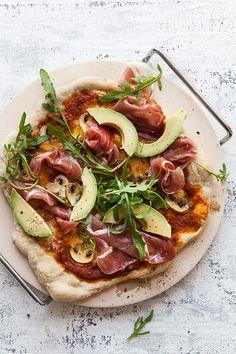 parma-ham-pizza