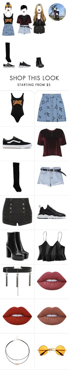 """[ GEMINI official Instagram ] Hana, JooKyung & MiNa posting a selfie together"" by xxeucliffexx ❤ liked on Polyvore featuring Être Cécile, Vans, Boohoo, Pierre Balmain, NIKE, Alexander Wang, Sophie Buhai, Lime Crime, Retrò and Hana"