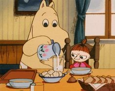 moomin breakfast