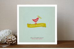 Put a Bird on It Business Holiday Cards by chica design at minted.com