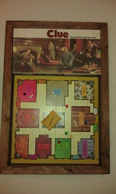 Clue Game Board loved this and still play it LOL