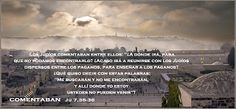 EVANGELIO DE JUAN: COMENTABAN Ju 7,35-36