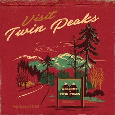 "reddjack: "" http://welcometotwinpeaks.com/inspiration/twin-peaks-matchbooks/ Twin Peaks Matchbook Series by Steven Rhodes """