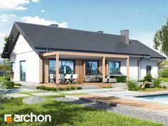 Dom w leszczynowcach 6 (G) House Plans, Pergola, House Design, Outdoor Decor, Home Decor, Blueprints For Homes, Homemade Home Decor, Home Plans, Architecture Illustrations