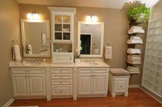 Houzz bathroom cabinets modern bathrooms upgrade your home Bathroom Towel Storage, Bathroom Storage Solutions, Wall Storage, Storage Ideas, Storage Cabinets, Storage Drawers, Toilet Storage, Storage Design, Bedroom Storage