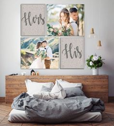 Wedding Vows Mr And Mrs Custom Vows His And Hers Vows Set Of 4 Canvases Wedding Canvas Art Rockincanvas Wedding Vows Mr And Mrs Custom Vows His And Hers Vows Set Of 4 Canvases Wedding Canvas Art Rockincanvas Wedding Vows For Him, Wedding Vow Art, Wedding Canvas, Trendy Wedding, Wedding Wall, Wedding Bedroom, Bedroom Romantic, Wedding Gifts, Wedding Blessing