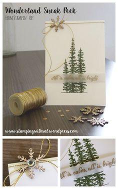 - Stampin' Up! UK Demonstrator Valerie Moody - Order Stampin' Up! Create Christmas Cards, Stampin Up Christmas, Christmas Cards To Make, Xmas Cards, Diy Cards, Handmade Christmas, Holiday Cards, Christmas 2015, Stampin Up Weihnachten