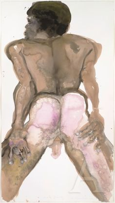 male beauty -  marlene dumas