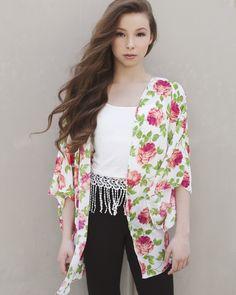 Sophia Lucia models for Pearl Yukiko #LuciaSophia