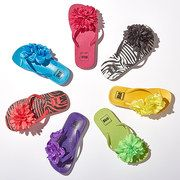 Take a look at the Step Out With Flair: Girls' Flip-Flops event on #zulily today!