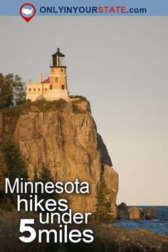 Travel | Minnesota | Attractions | USA | Hikes Under 5 Miles | Trails | Mountains | Hiking | Things To Do | Nature | Places To Visit | Outdoor | Adventure | Easy Hikes | Beautiful Places | State Parks | Natural Wonders | Short Hikes | Waterfalls | National Monument | Devil's Kettle | Waterfront | Prairie | Lighthouse | Minnesota Hikes