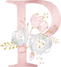 Flower Alphabet, Monogram Alphabet, Cute Wallpaper For Phone, Galaxy Wallpaper, Watercolor Lettering, Floral Watercolor, Floral Illustrations, Cute Illustration, Monogram Wallpaper