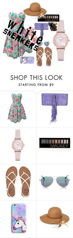 """""""Untitled #189"""" by naomy-nona ❤ liked on Polyvore featuring Balmain, Emporio Armani, Forever 21, Billabong, Cutler and Gross and Steve Madden"""