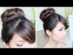 Like and favorite for more ♥ Learn how to do more cute hairstyles: http://www.youtube.com/playlist?list=PLD4D5DE6CCCF00AF4    Hey guys, for this hair tutorial I'll be using the sock bun method again to create a cute braided hair bun updo.     ♥ Pictures on my blog: http://www.justbebexo.com/hairstyles/139-braided-sock-bun-updo-hairstyle-2-ways    ♥ Ca...