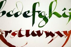 Roann Mathias Calligraphy
