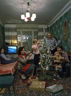 Встреча Нового года, СССР, 1986 год / New Year party, USSR, 1986