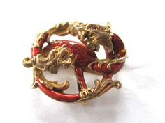 Gold Griffin Pin
