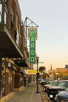 Fargo, North Dakota. I was there!