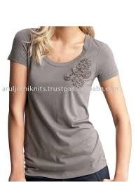 Resultado de imagem para aplicação de croche em camiseta