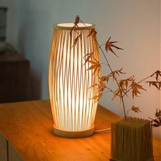 Arturest Wooden Natural Color Wall Lamp Home Decoration | Etsy Luminaire Design, Lamp Design, Light Design, Wabi Sabi, Style Asiatique, Cute Diy Room Decor, Wood Lamps, Bamboo Lamps, Rattan Lamp