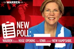 Polling of likely Democratic caucus goers and primary voters in Iowa and New Hampshire conducted by YouGov for the Run Warren Run campaign shows that Elizabeth Warren's story and vision are highly resonant, and that she has an opening should she decide to run for president. New Polls in IA and NH Show Big Opening [...]
