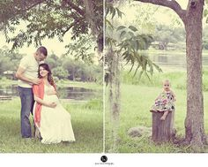 Beautiful before and after baby photo ideas