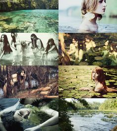 The Naiades were fresh-water Nymphs who inhabited the rivers, streams, lakes, marshes, fountains and springs of the earth. They were immortal, minor divinities who were invited to attend the assemblies of the gods on Mount Olympos.