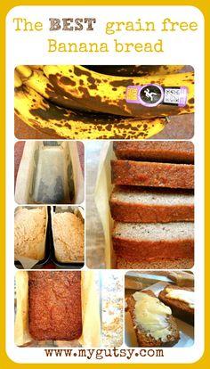 Coconut Flour Banana Bread - Gluten Free, Grain Free, Paleo