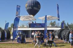 Captif de la montgolfière Trelleborg à Innov-Agri, à Ondes, les 4 et 5 septembre 2013 - Air-Pegasus montgolfiere