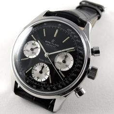 Black Bough - BREITLING vintage, Top Time 'Jumbo' Ref. 810, circa 1964