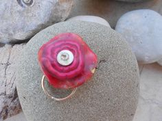 Polymer clay ring by katerina66, via Flickr