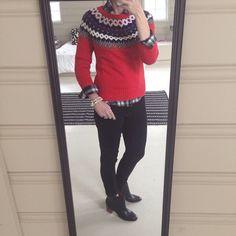 Instagram @headedoutthedoor #ootd || @targetstyle flannel and necklace (worn as a bracelet) | @oldnavy sweater | @bananarepublic denim and boots