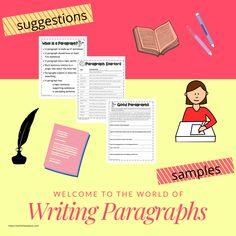 This is an awesome resource for teachers. Teach your students how to write better paragraphs. They should have an introductory sentence, three supporting sentences and a conclusion. You will find suggestions, graphic organizers and activities. Paragraph Writing Worksheets, Persuasive Writing, Writing Rubrics, 4th Grade Writing, Student Goals, Opinion Writing, Learning To Write, Cool Writing