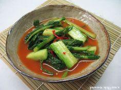개 Kimchi, Korean Food, Thai Red Curry, Pickles, Green Beans, Cucumber, Cooking Recipes, Vegetables, Ethnic Recipes