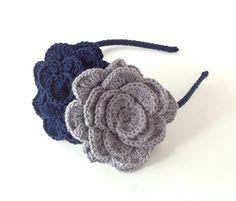Diademas hechas a crochet. De que color quieres la tuya?