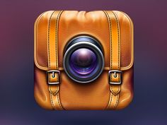 Camera App Icon for Travelers