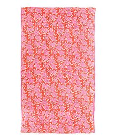 Love this Pink Floral Carpet by Karma Living on #zulily! #zulilyfinds
