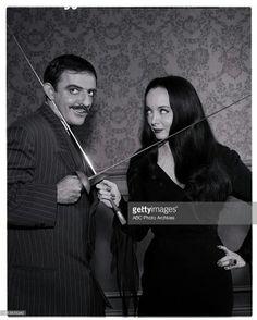 John Astin and Carolyn Jones as Gomez and Morticia Addams ❤❤